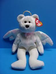 ty beanie baby halo the bear 1998 5th generation hang tag ebay