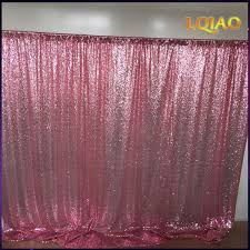 fabric backdrop 10x10ft pink gold chagne sequin fabric backdrop wedding photo