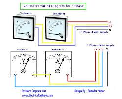 voltmeter wiring diagram