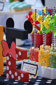Mickey Mouse Table by 14 Best Mickey Mouse Birthday Candy Table Images On Pinterest