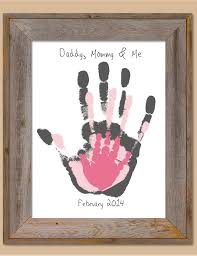 this family handprint is so adorable and priceless great