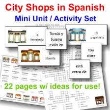 Floor Plans In Spanish City Shops In Spanish U2013 Printable Spanish