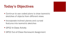isometric sketching from different view points ppt download