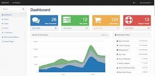 menu templates for bootstrap top 22 free responsive html5 admin dashboard templates 2018 colorlib