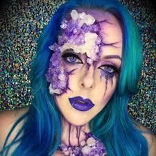 Beauty Halloween Costume 15 Easy Minute Halloween Costume Face Paint Ideas Popsugar