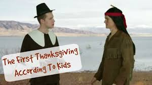 The History Of Thanksgiving Video The First Thanksgiving As Explained By Kids Fun With Kids