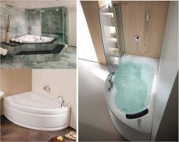 Small Bathtub Astounding Small Soaker Tub Shower Combo Pics Inspiration