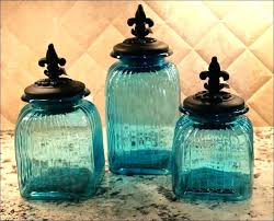 blue kitchen canister jar kitchen canisters or blue kitchen canisters t