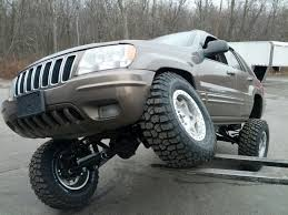 raised jeep grand cherokee jeep grand cherokee long arm upgrade kits 1999 2004 wj clayton