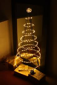 wire christmas tree with lights cool wire christmas tree with lights brown copper led outdoor