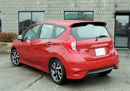 nissan versa sedan 2016 2015 nissan versa note sr review wheels ca