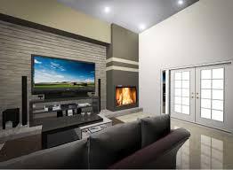 contemporary tv room plans with corner gas fireplace homescorner com