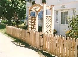 Metal Arbors Wood Gates And Arbors