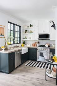small kitchens with taupe cabinets black cabinets with taupe countertops eclectic kitchen