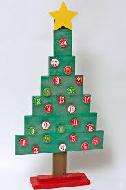 diy magnetic tree advent calendar third stop on the right