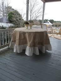Tablecloth For Patio Table by Patio Table Cloth Fresh Decor Tips Porch Design With 90 Inch Round