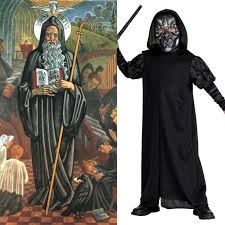 catholic all year twofer costumes for halloween and all saints