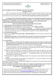Daily Life Skills Worksheets Pragathi Central