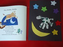 the cow jumped over the moon counting u0026 color review nursery