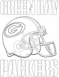packers football helmet coloring page coloring home