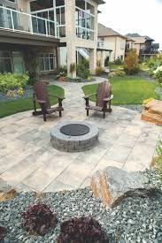 Slate Firepit Oasis Circle Firepit Surrounded By Dynasty Slate Slabs