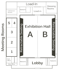 Disney Concert Hall Floor Plan by Houma Terrebonne Civic Center U2013 Floor Plan And Room Specs