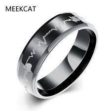 verlobungsring gr e musik note wohnung ringe mann tragen größe 7 10 6 mm mode schwarz