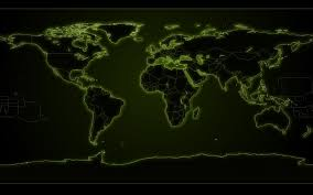 Black World Map by World Map Wallpaper And Background 1680x1050 Id 75868
