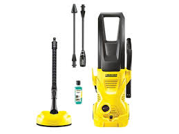 T Racer Patio Cleaner by Karcher K2 Home 240v 110 Bar Pressure Washer And Brush Kit