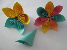 origami origami kusudama flower folded paper flowers tutorial