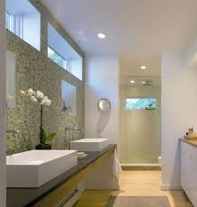 His And Hers Bathroom by Vessel Sink Vanity Bathroom Transitional With His And Hers Bath