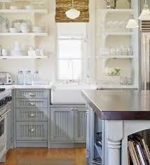 Blue Gray Kitchen Cabinets Design Ideas - Blue kitchen cabinets