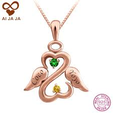 Custom Necklace Pendants Online Buy Wholesale Sterling Silver Custom From China Sterling