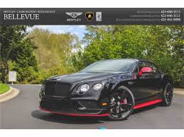green bentley 2017 2017 bentley continental for sale classiccars com cc 983662