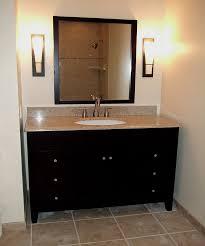 4 Foot Bathroom Vanity by Marble Top Double Sink Bathroom Vanity And Mirror Set Free