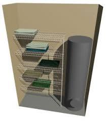 5 shelf desk organizer linen 4 shelves nzwardrobes