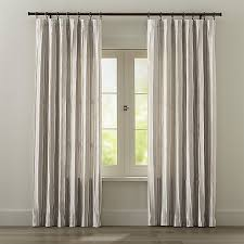 Material For Kitchen Curtains by Kendal Natural Curtains Crate And Barrel