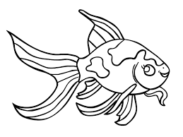 perfect goldfish coloring page 85 for coloring books with goldfish