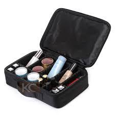 Makeup Box customize protable bag cheap small size black makeup box with