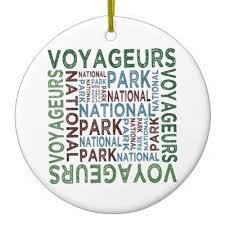 voyageurs national park loon metal ornament zazzle