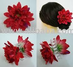 flower hair clip dahlia flower hair clip claw buy dahlia flower hair clip product