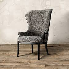 Upholstered Arm Chair Dining Portsmouth Upholstered Dining Arm Chair In Gage Dove And Aged