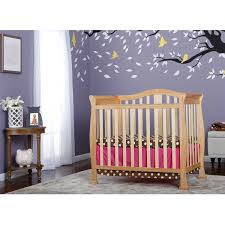 Da Vinci Emily Mini Crib by Dream On Me Addison 4 In 1 Convertible Mini Crib Natural Walmart Com