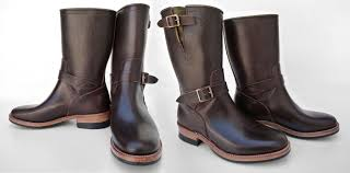 engineer boots back in brown mister freedom road champ engineer boots nos