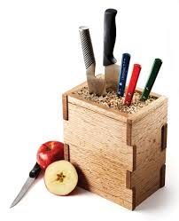 learn how to make a kitchen knife block the wood whisperer would