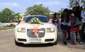 location de voiture pour mariage kinshasa la location de voiture pour mariage un marché très