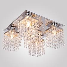 Modern Ceiling Lights by Lightinthebox Crystal Ceiling Light With 5 Lights Electroplated