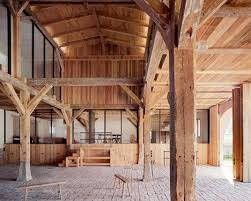 Tall Timber Barn Thomas Kroeger Converts German Cowshed Into Holiday Home