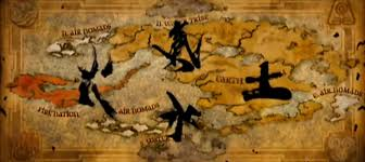 Map Of Avatar Last Airbender World by Epic New Japanese Last Airbender Trailer Features Lots Of New Content