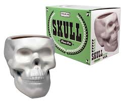 amazon com plant pot skull bone white patio lawn u0026 garden